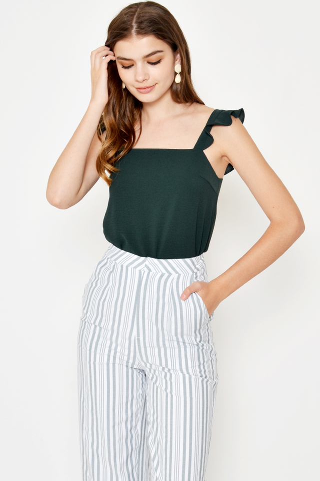 RANDO STRIPE FLARE PANTS