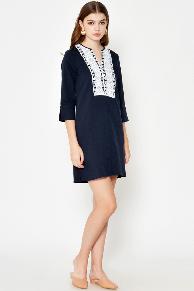 ZANDRA EMBROIDERED DRESS