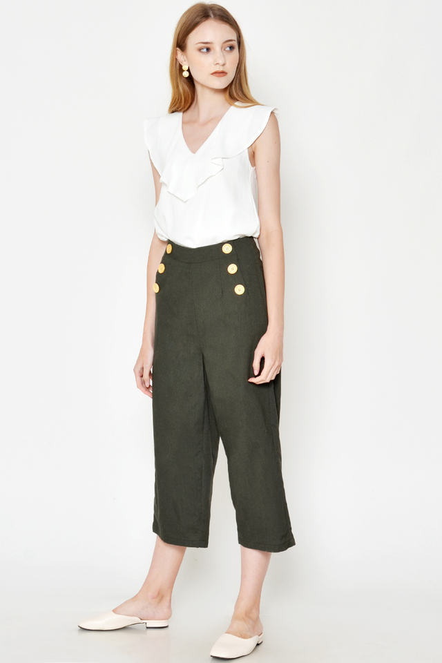 CHARLIE BUTTON CULOTTES