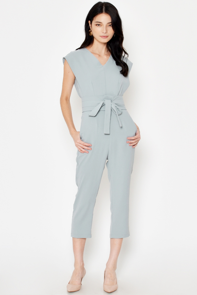 *BACKORDER* ELFIE JUMPSUIT W OBI BELT