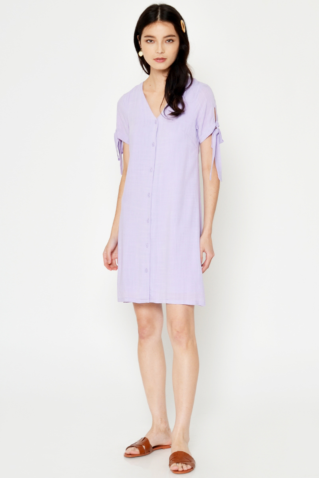 JAYLYN BUTTONDOWN DRESS