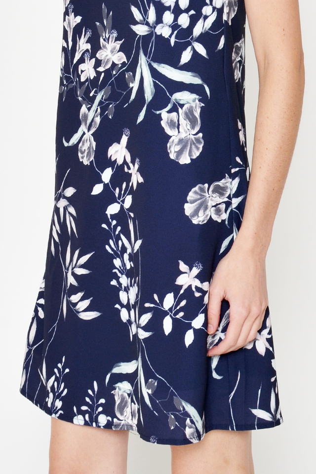 NOLIA FLORAL SHIFT DRESS