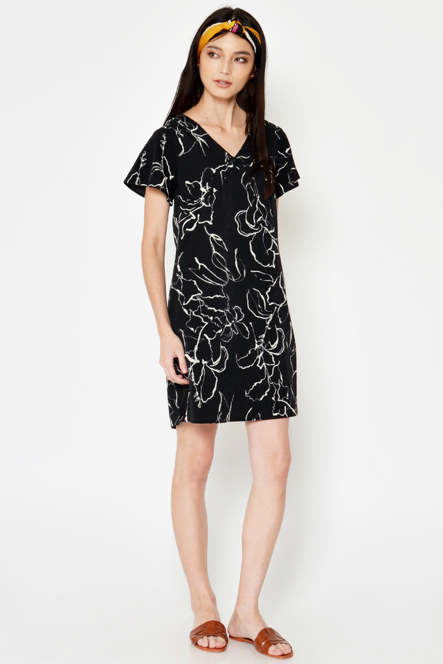 KAMRYN ABSTRACT DRESS
