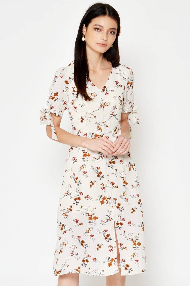 SUSIE FLORAL MIDI DRESS