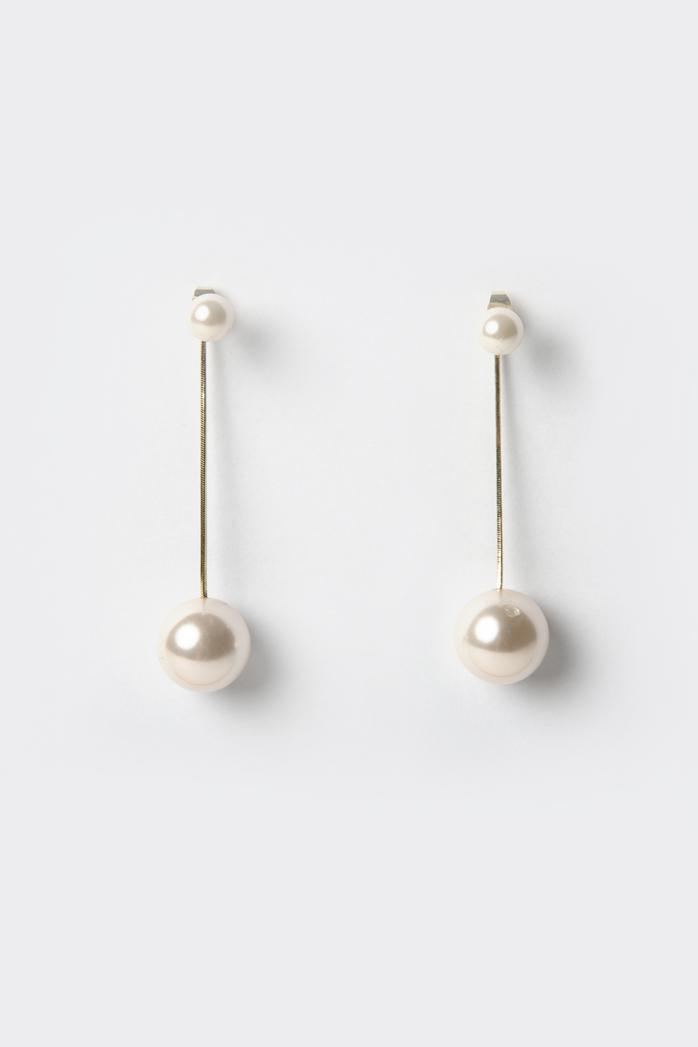 PEARL DANGLE DROP EARRINGS