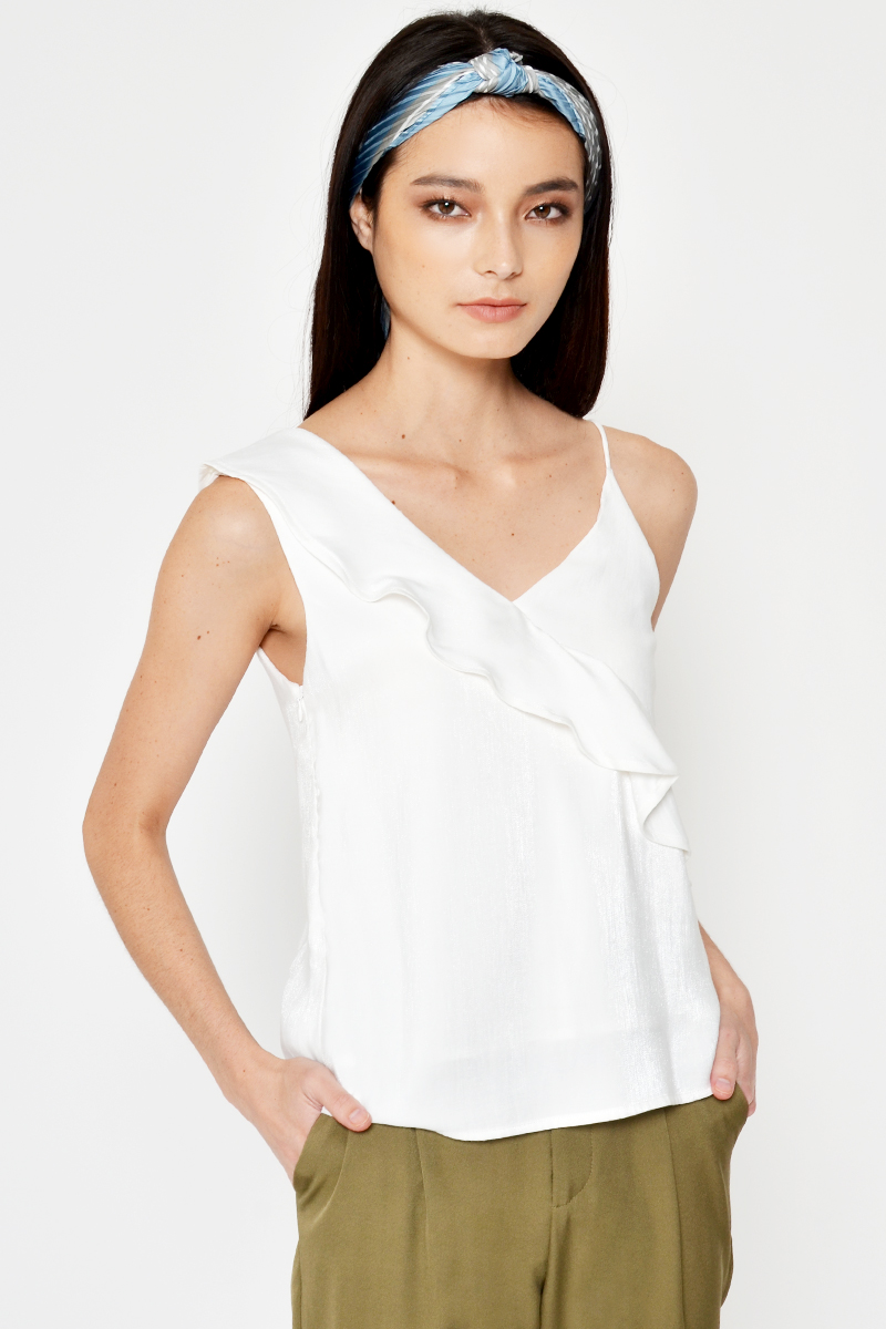 *BACKORDER* SHARNIE RUFFLE LAYERED TOP