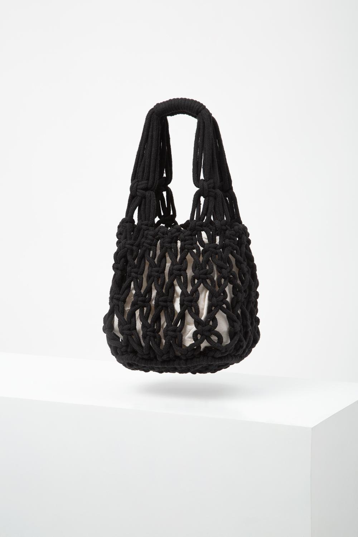 WOVEN CROCHET BAG
