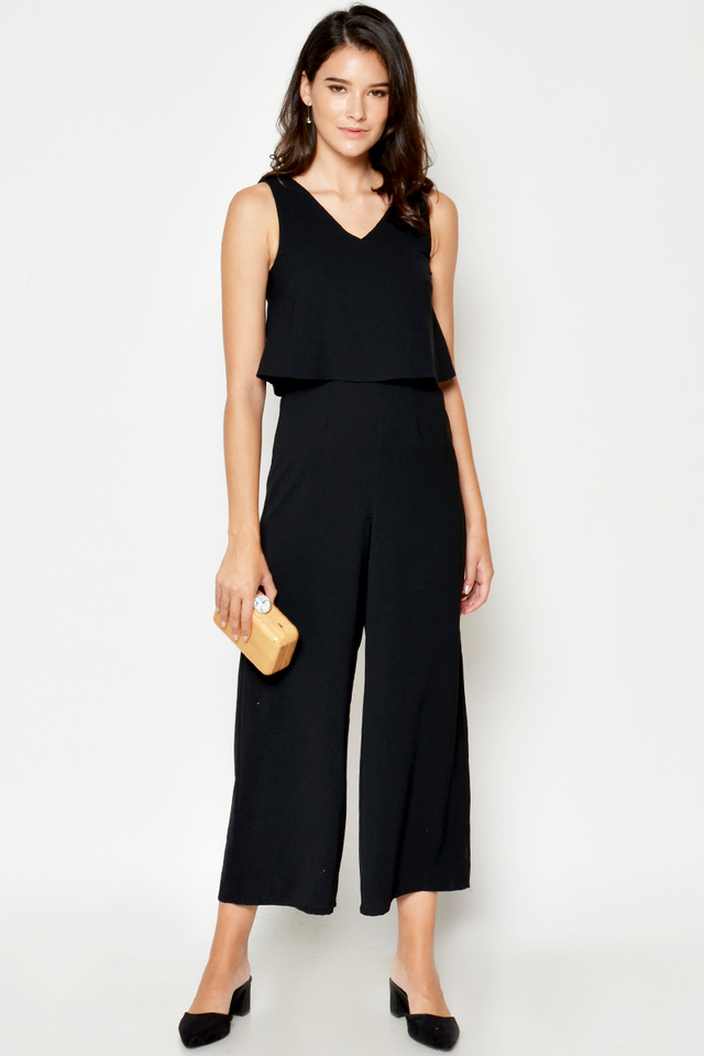 *BACKORDER* EVRA LAYERED JUMPSUIT
