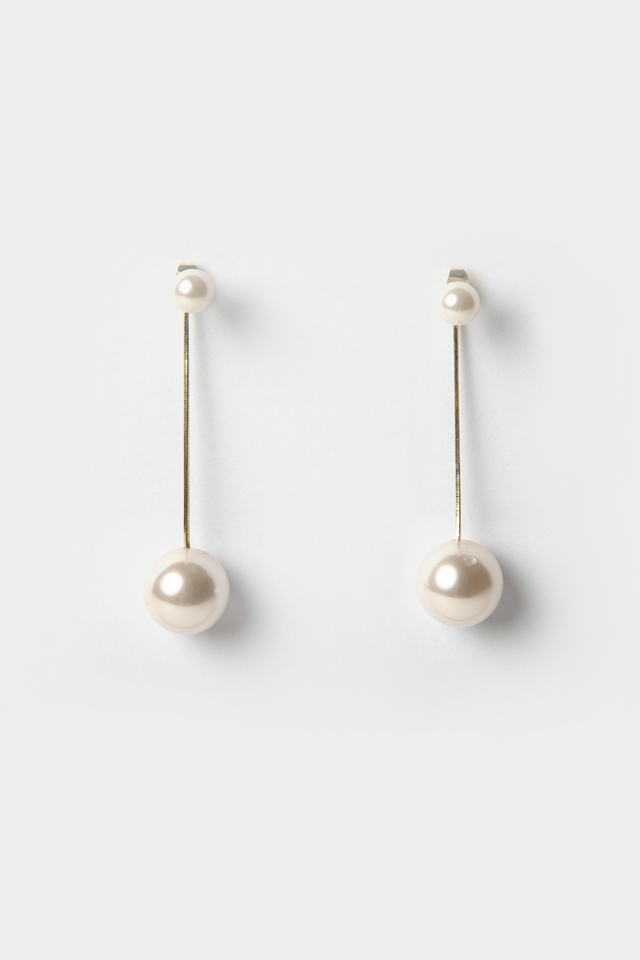 *BACKORDER* PEARL DANGLE DROP EARRINGS