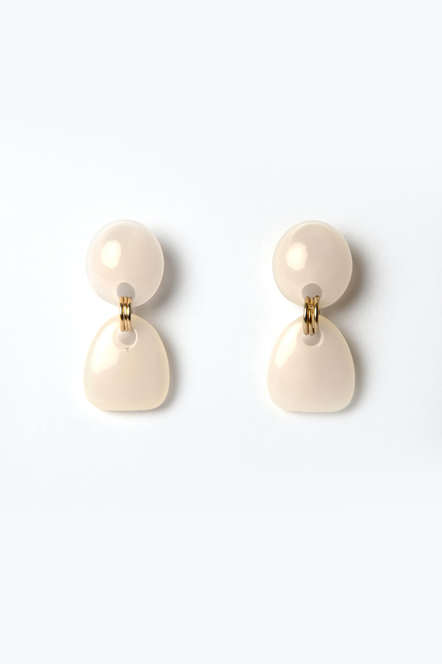 *BACKORDER* PINK X GOLD EARRINGS
