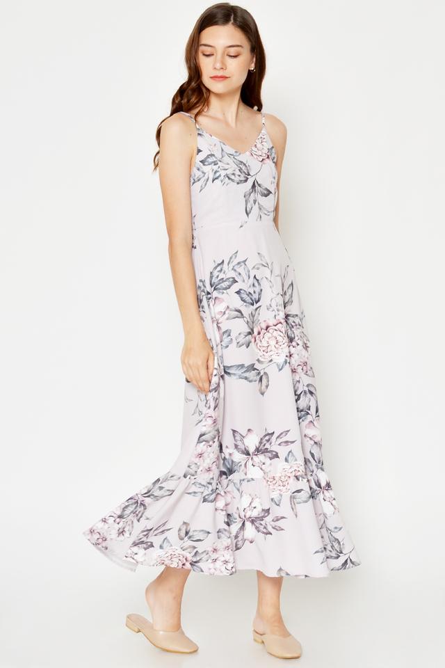 DRISA FLORAL MAXI DRESS