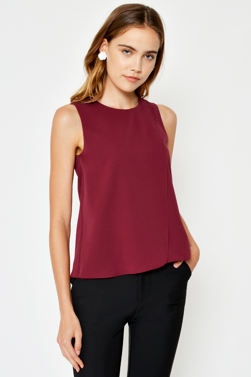 PRIELA LAYERED TOP