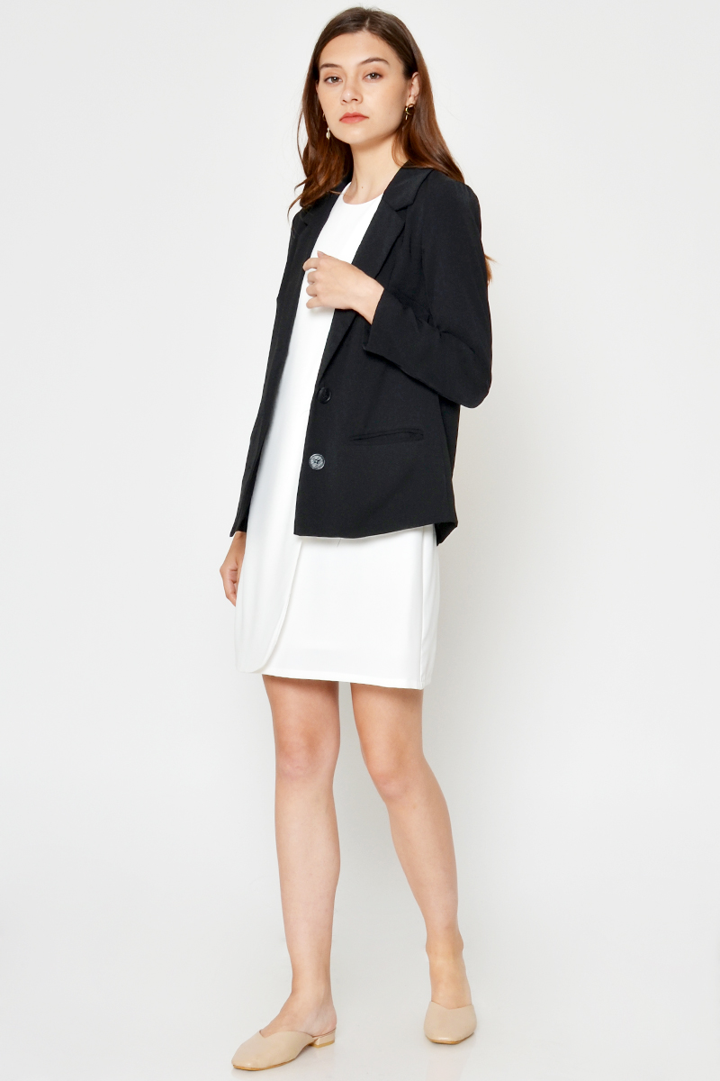 EDDIE DUO BUTTON BLAZER