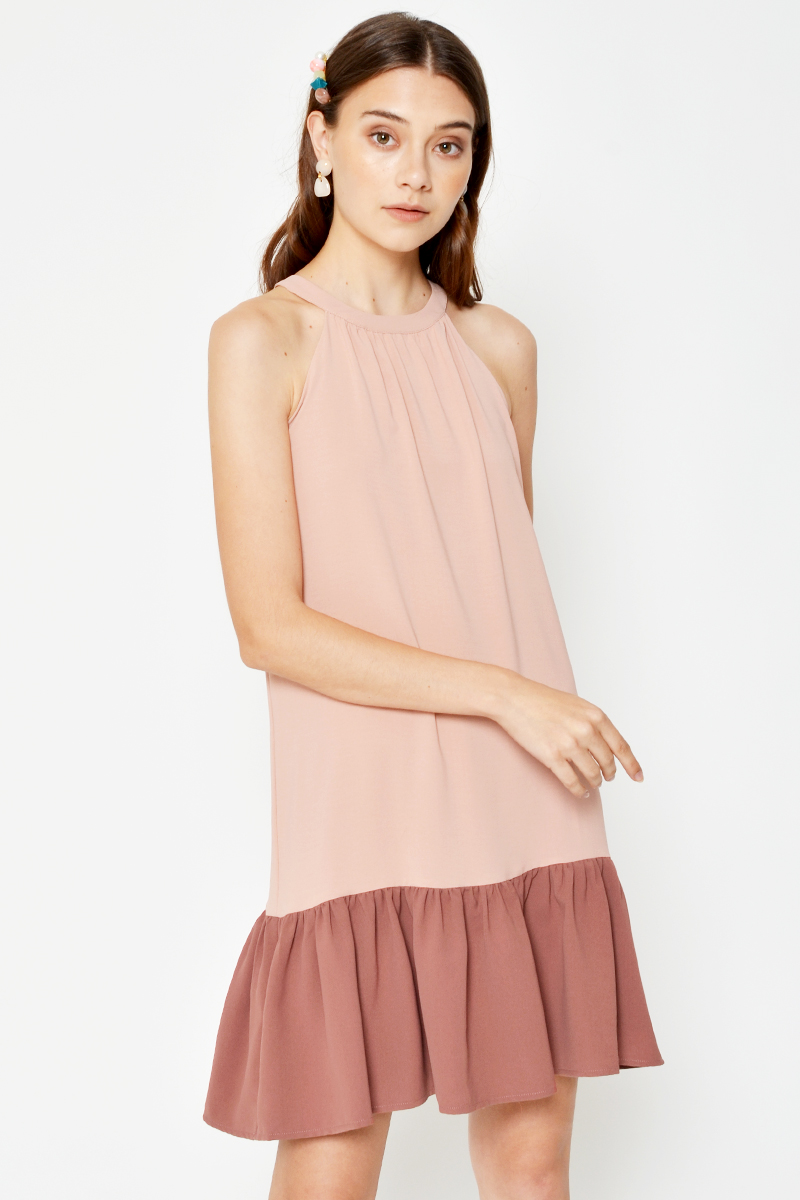JACINTHA COLOURBLOCK DRESS