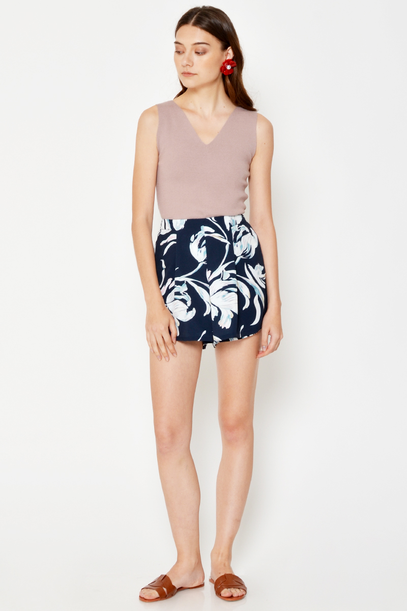 MINJI ABSTRACT HIGHWAIST SKORTS
