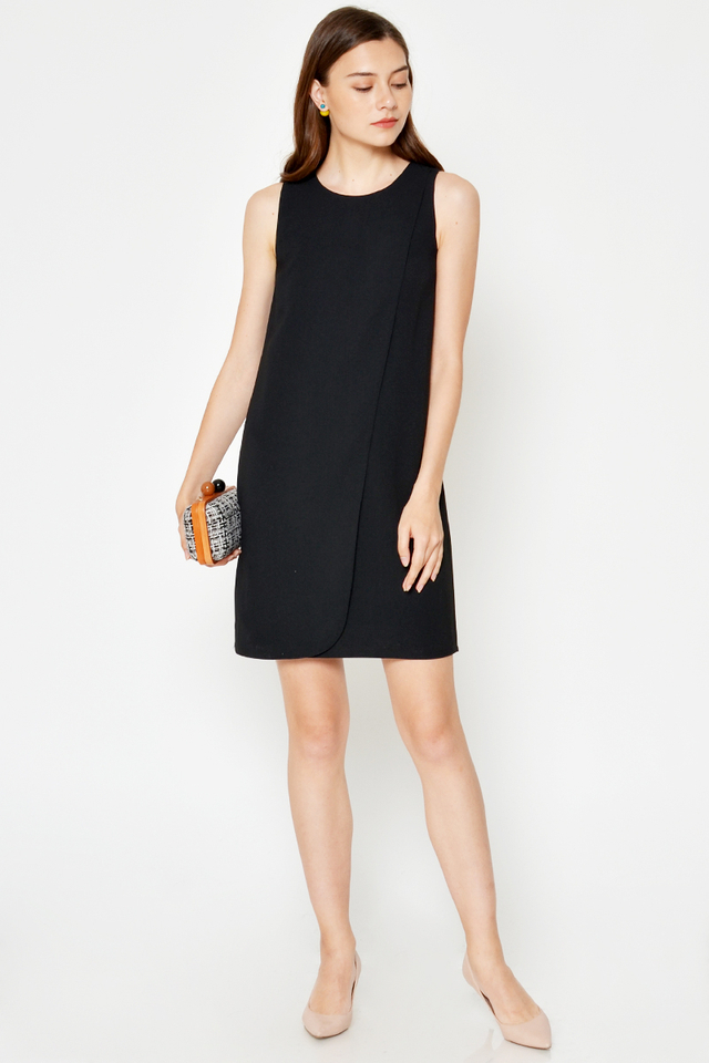 *BACKORDER* GALINA LAYERED SHIFT DRESS