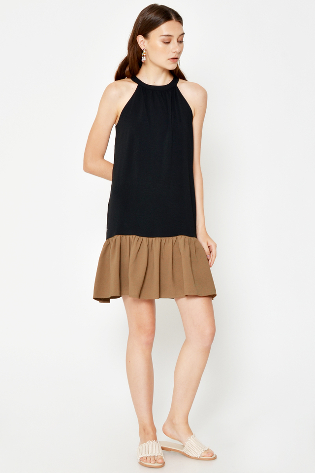 JACINTHA COLOURBLOCK DRESS