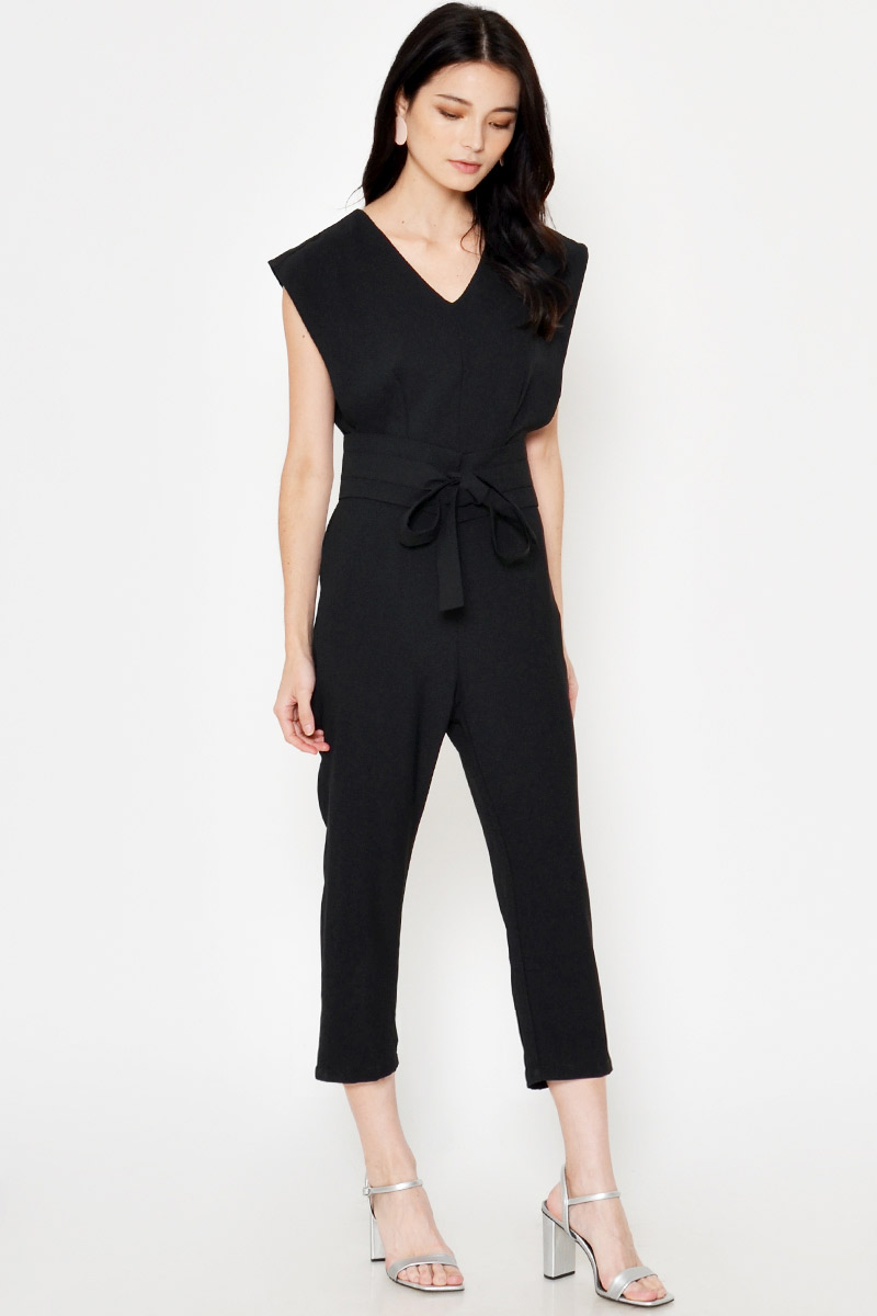 *BACKORDER 2* ELFIE JUMPSUIT W OBI BELT