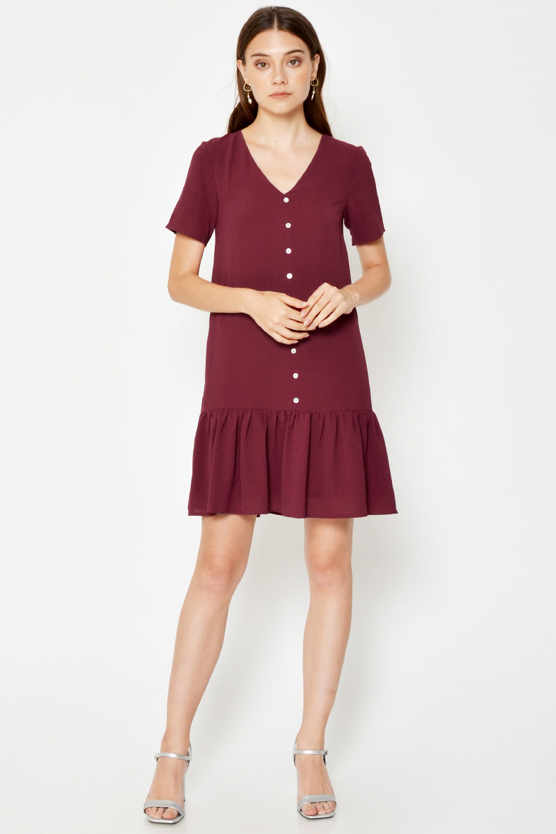 EDENIA DROPWAIST DRESS