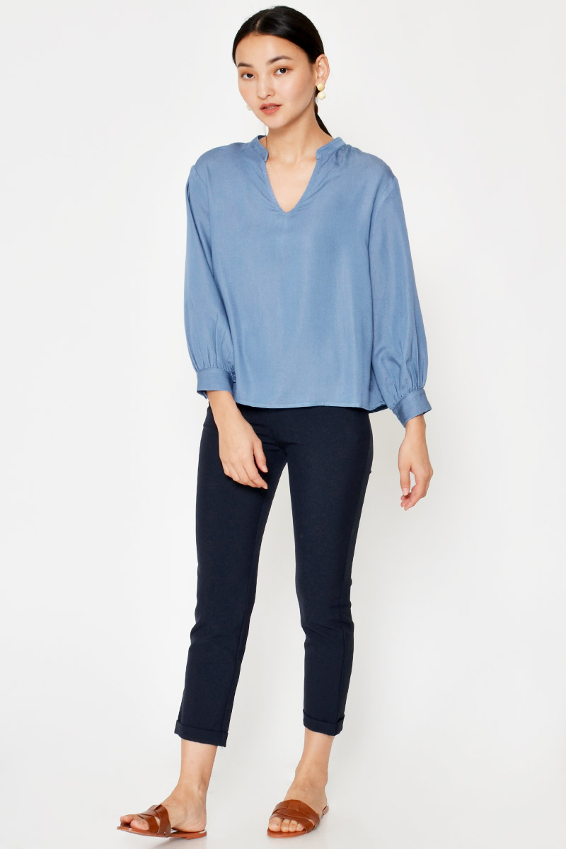 CECILY BASIC TENCEL TOP