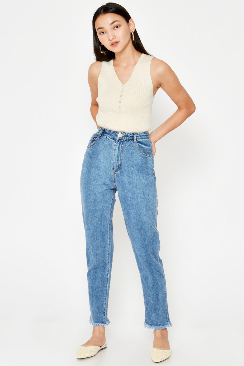 SABRYN DENIM MOM JEANS