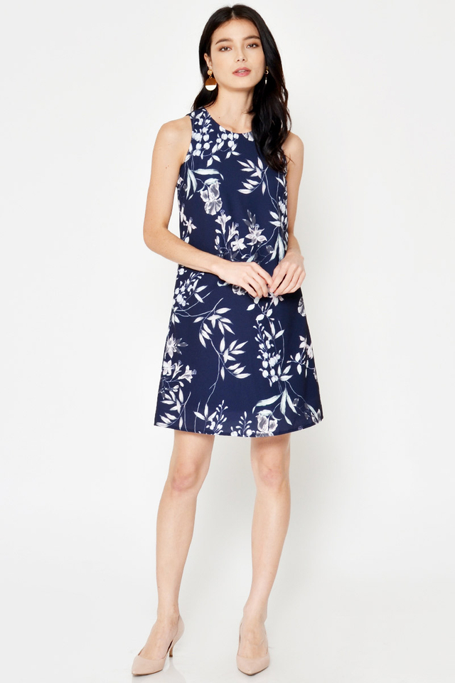*BACKORDER* NOLIA FLORAL SHIFT DRESS