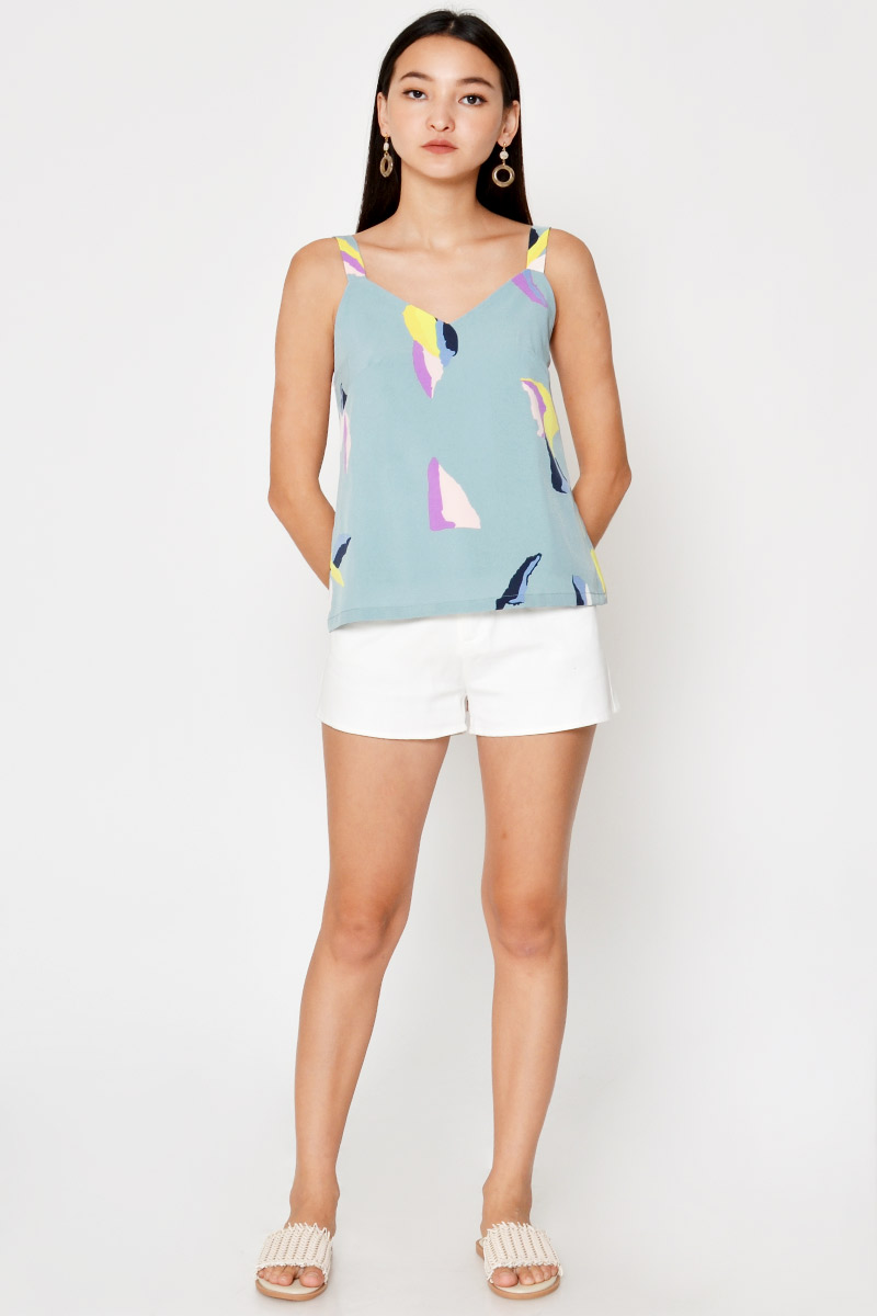 ALDRIN ABSTRACT TOP