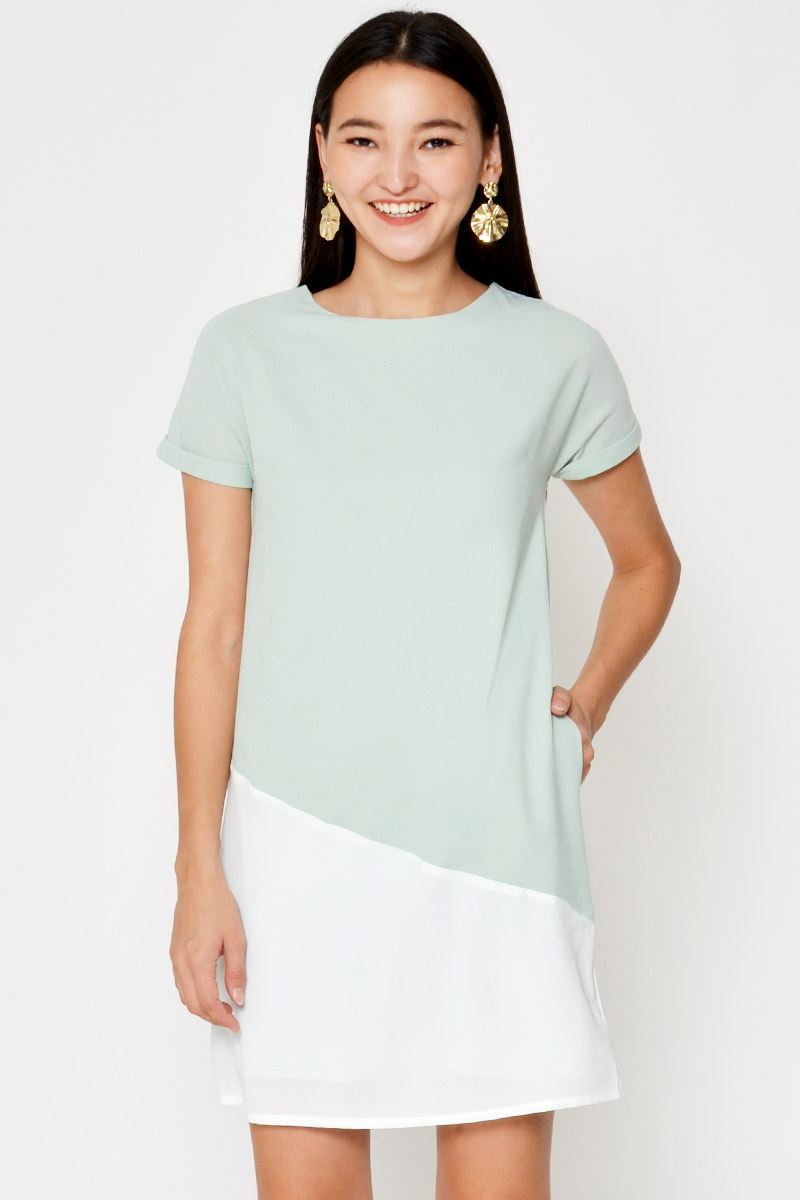 CAMILLA COLOURBLOCK DRESS