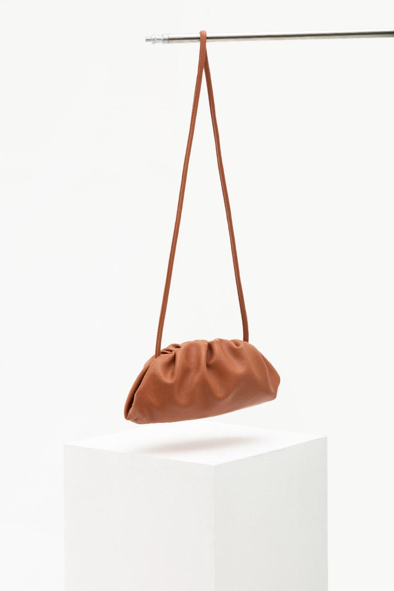 SOFT LEATHER DUMPLING BAG (SMALL)