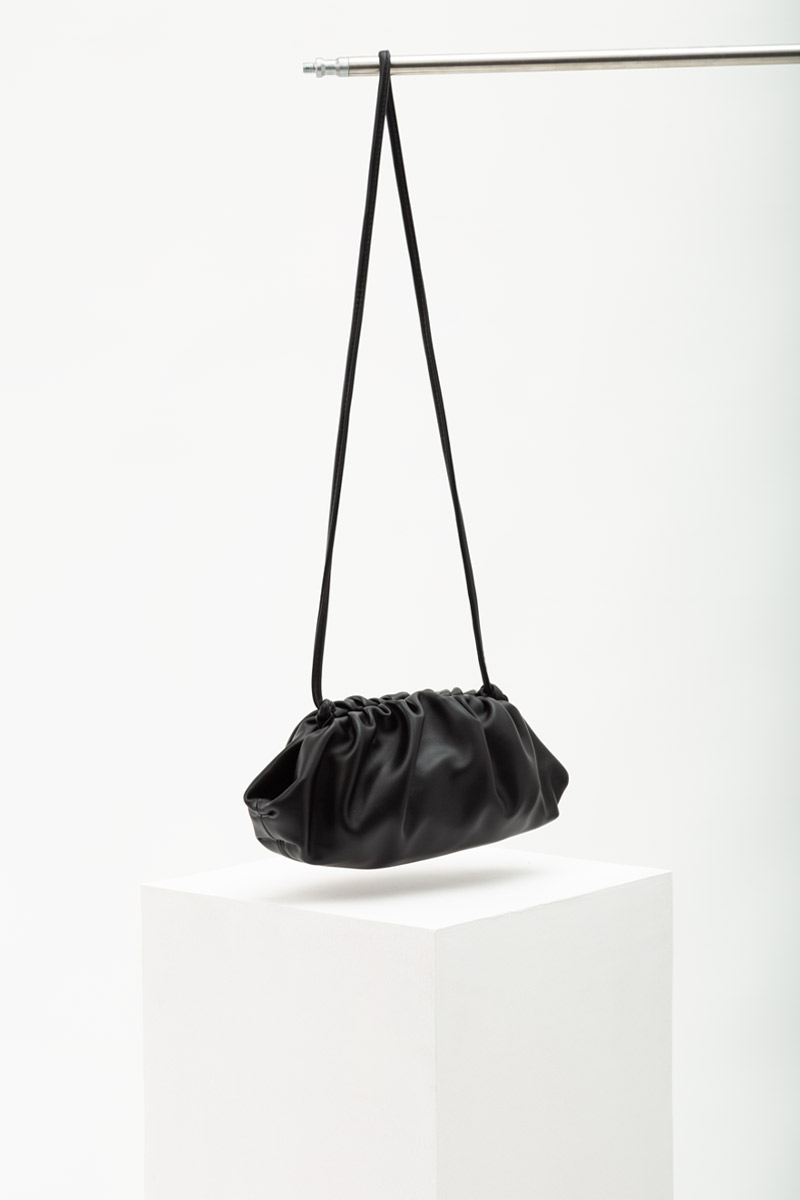 SOFT LEATHER DUMPLING BAG (SMALL)