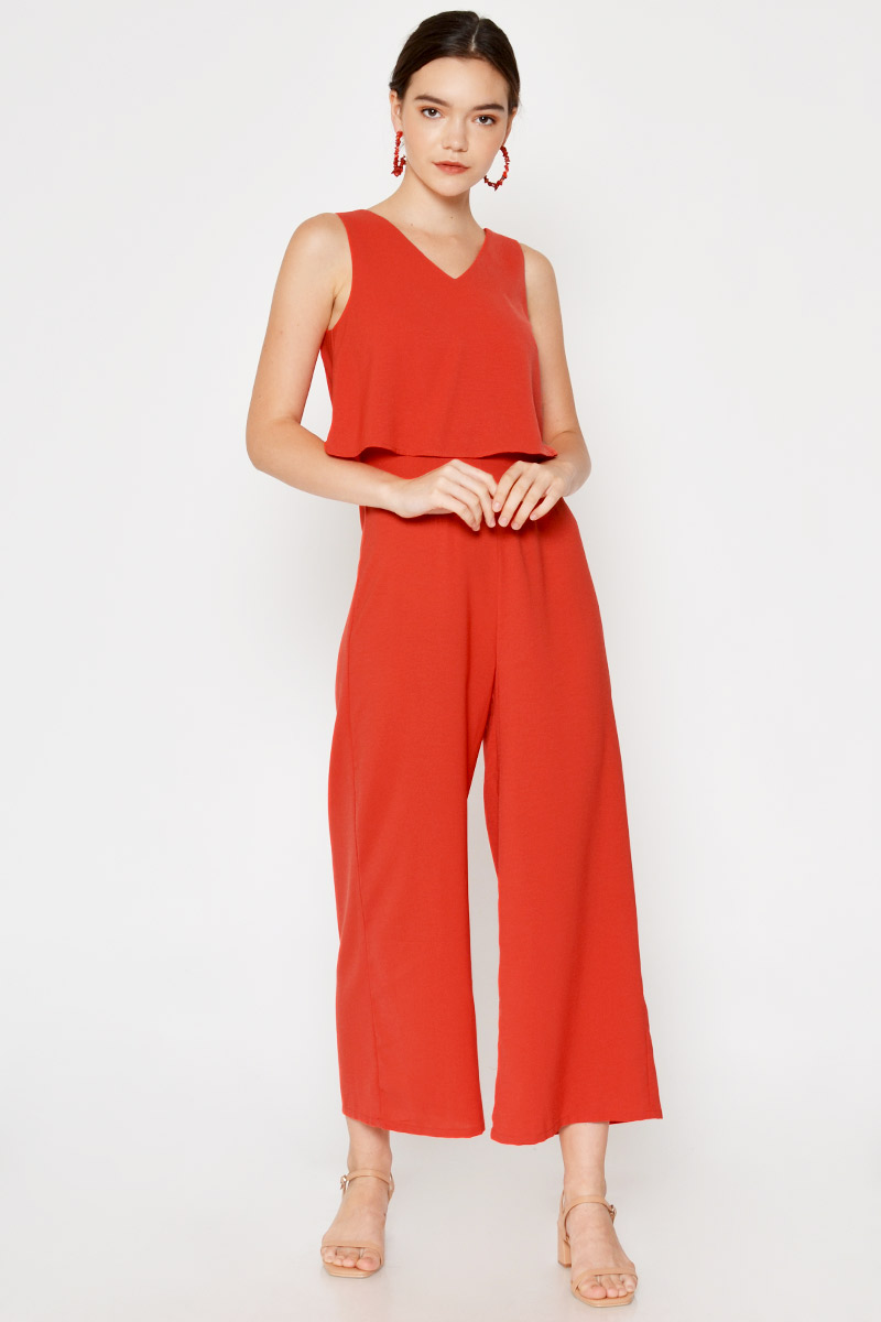 EVRA LAYERED JUMPSUIT