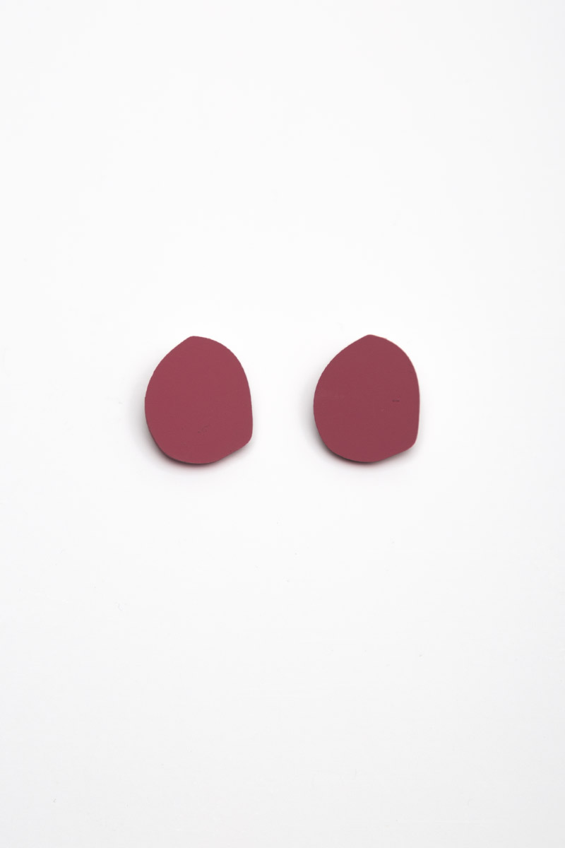 ODD SHAPED STUD EARRINGS