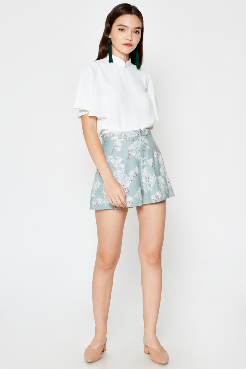 GEMMA FLORAL HIGHWAIST SHORTS