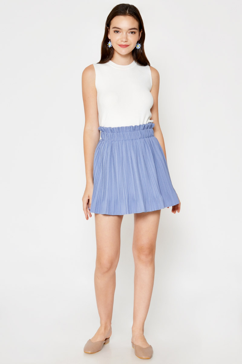 LILITH PLEATED SKORTS