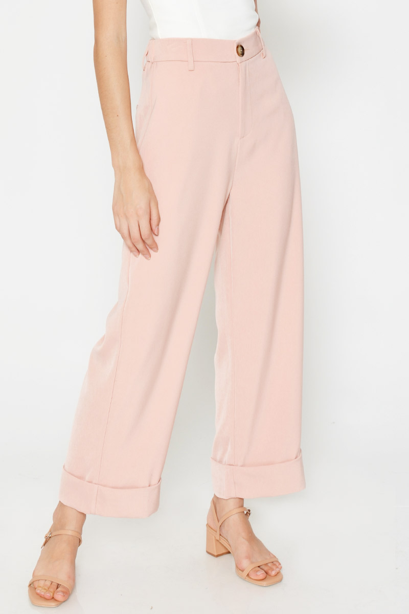 BRYLIE HIGHWAIST CUFFED PANTS