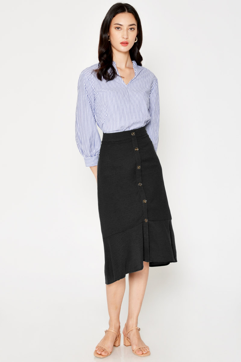 DANISHA BUTTONDOWN SKIRT