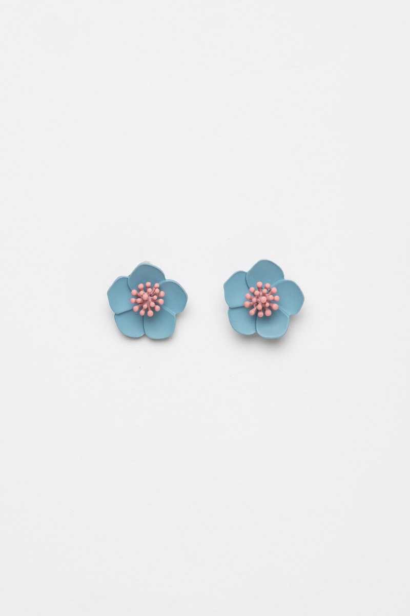 HIBISCUS BLOOM EARRINGS