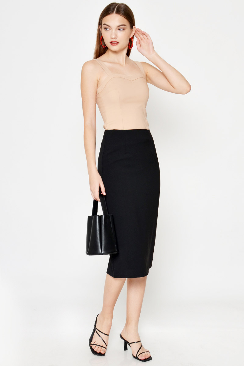 JANAE BASIC PENCIL SKIRT