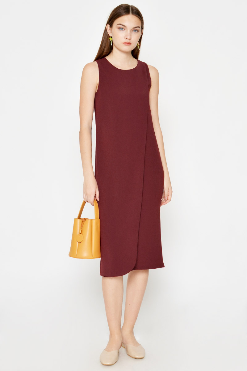 GISELLE LAYERED MIDI DRESS