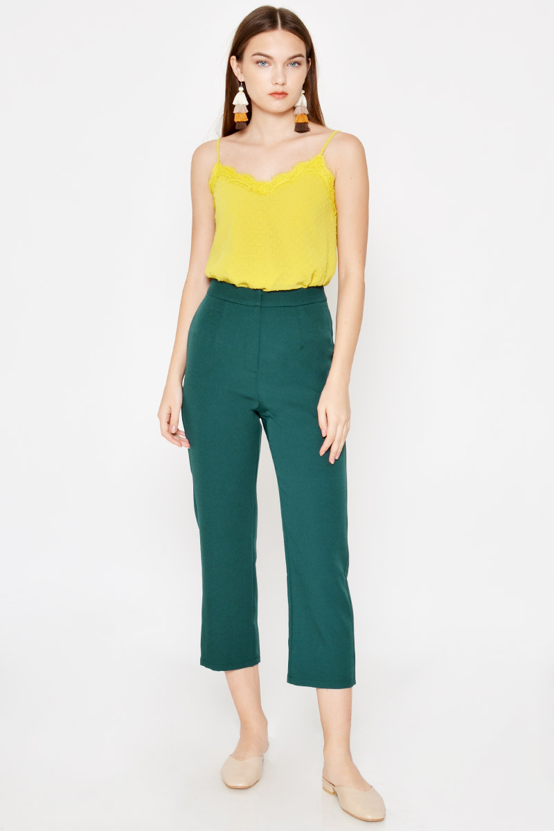 WATKINS HIGHWAIST CIGARETTE PANTS