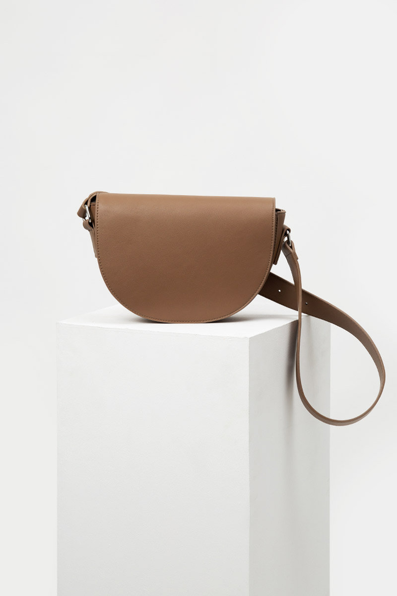 ANTOINETTE HALF MOON LEATHER BAG