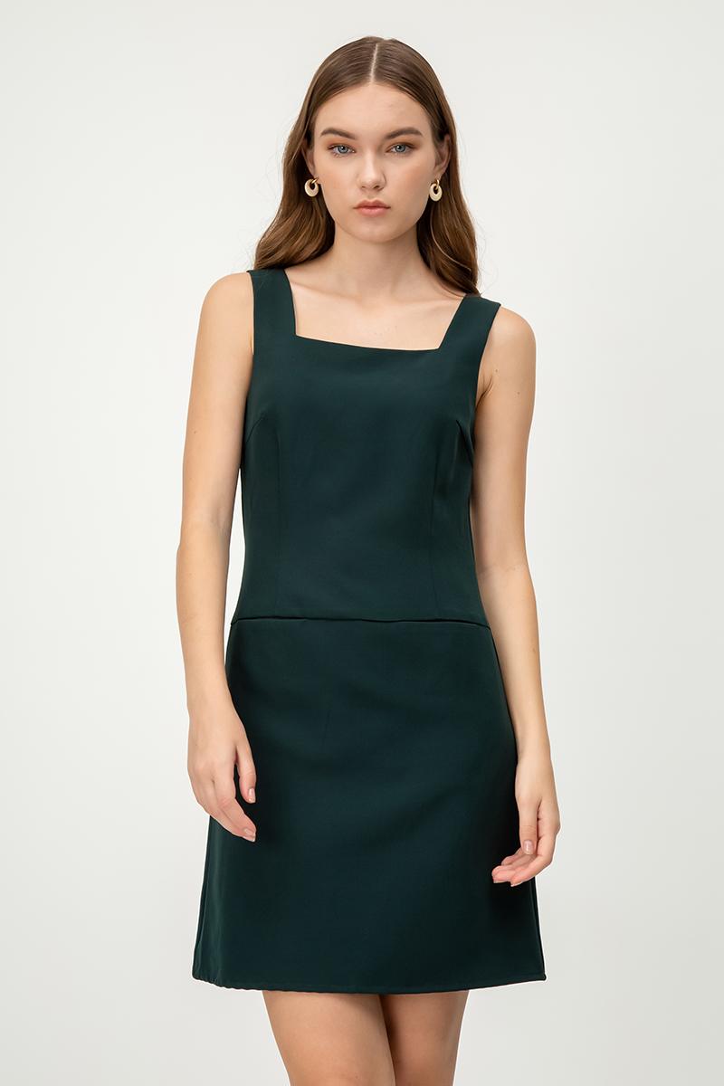 BLAISE FRONT POCKET DRESS