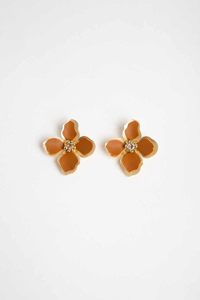 EVENING PRIMROSE FLORAL EARRINGS