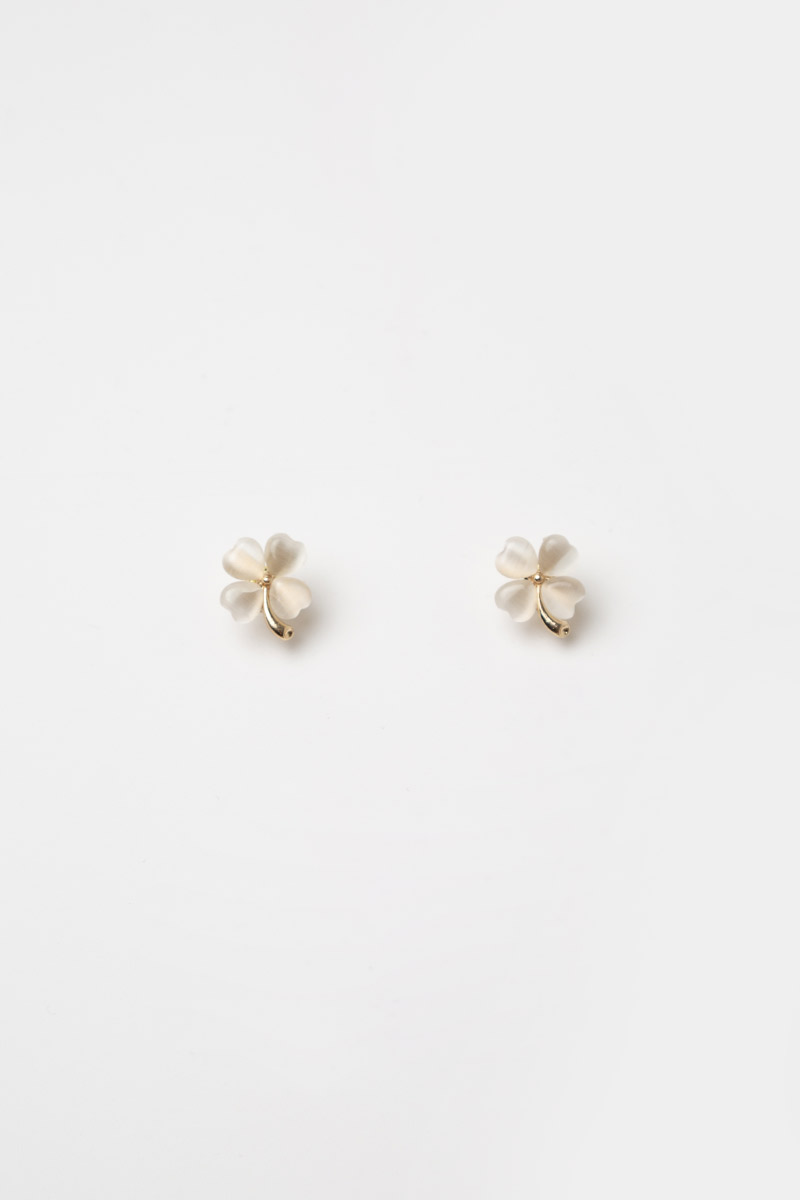 FOUR LEAF CLOVER EARRINGS