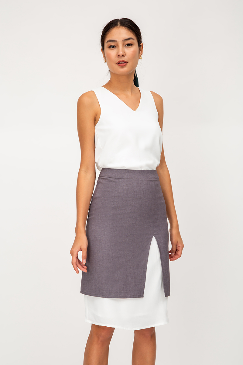 CHESSA LAYERED SKIRT
