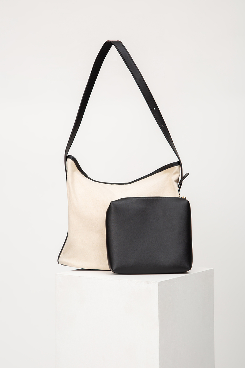 TWO-TONE CANVAS SLING