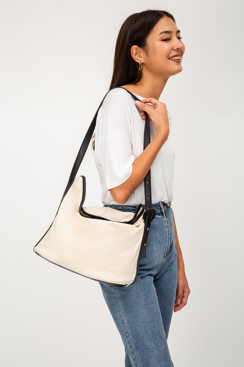 *BACKORDER* TWO-TONE CANVAS SLING