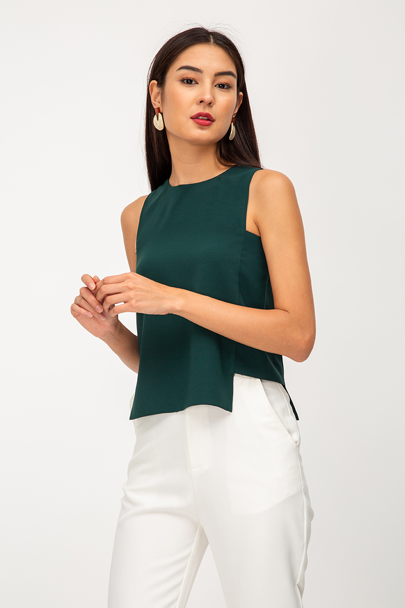 CADEY SIDE CUTOUT TOP