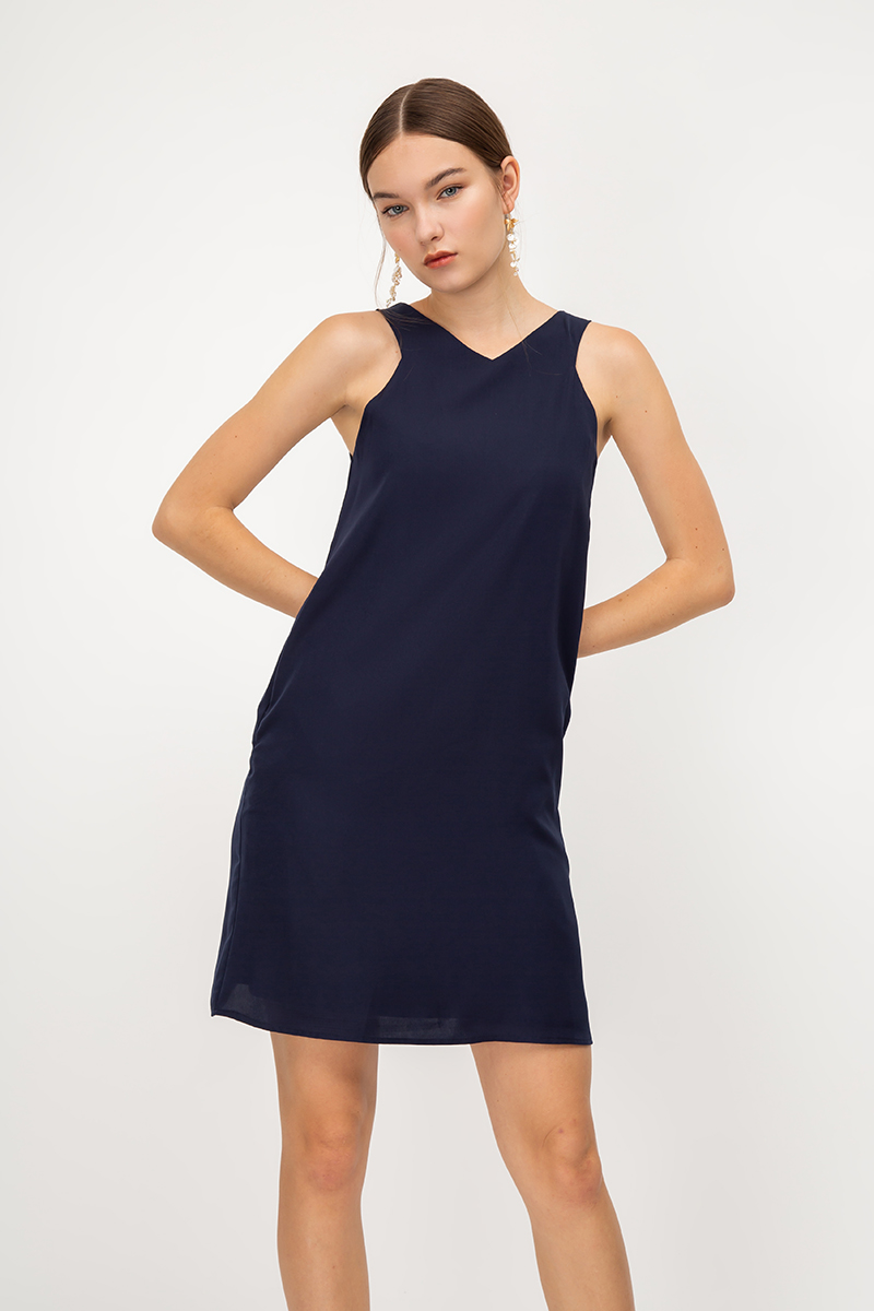 SHANZIE TRAPEZE DRESS