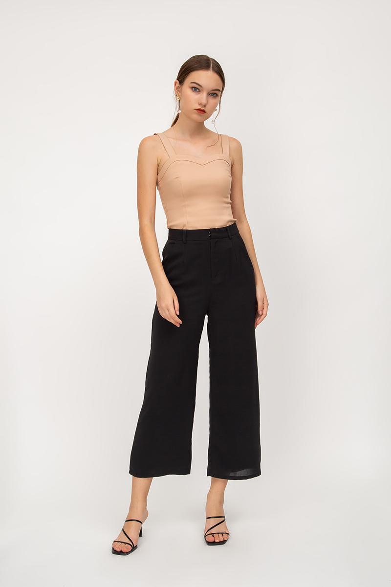 PAXTON HIGHWAIST FLARE PANTS
